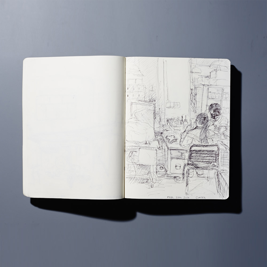 ECAL Sketching China